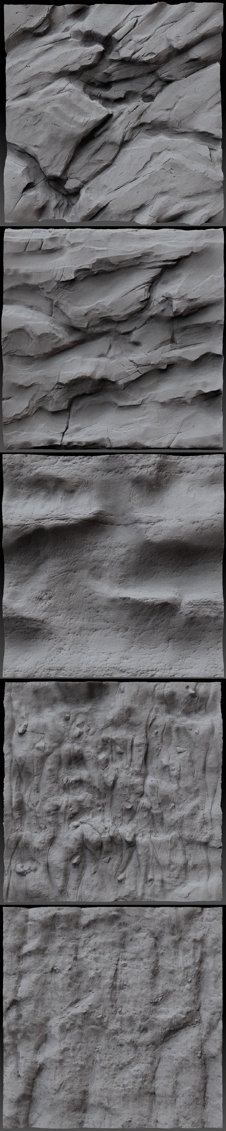 only volumetric rock shapes