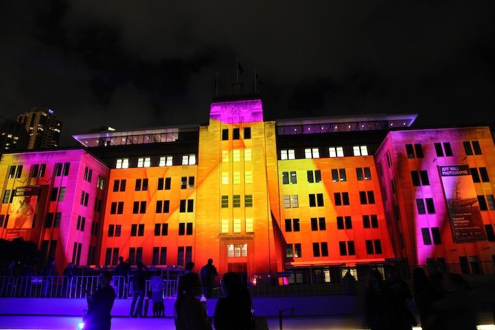 Larger-Than-Life 3D Projection Mapping in Sydney