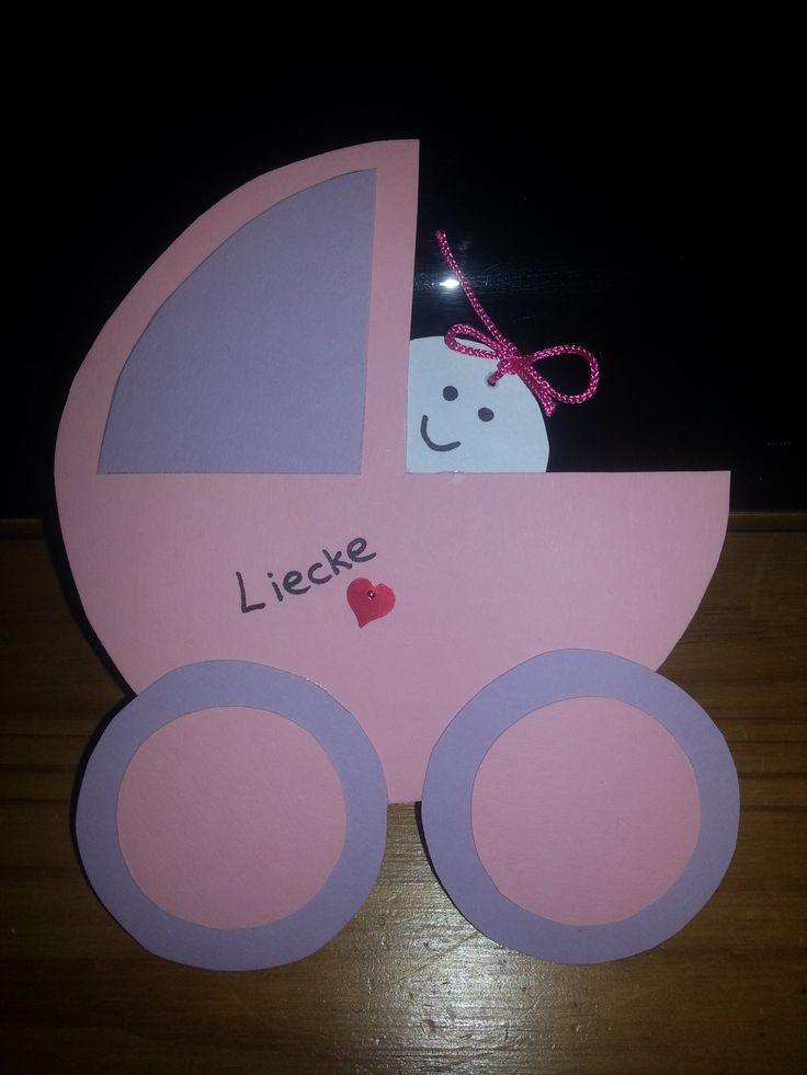 Geboorte Kinderwagen meisje