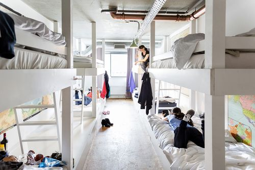 Experienced 8-Bed Dorm Ecomama Amsterdam Boutique Hostel