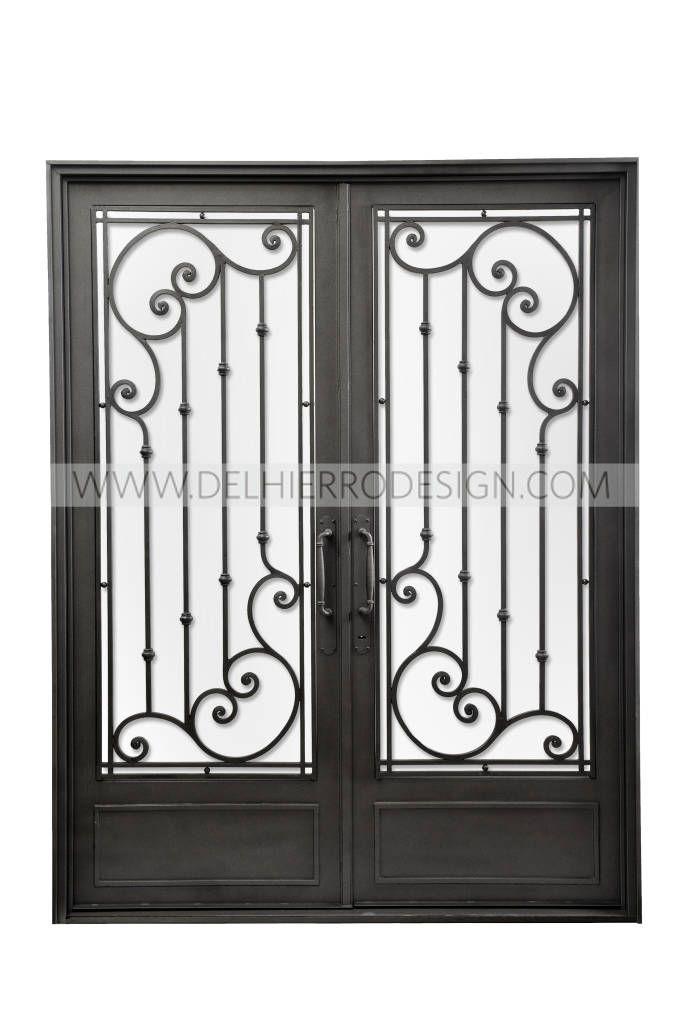 Im genes de decoraci n y dise o de interiores puerta de for Fotos de puertas de hierro