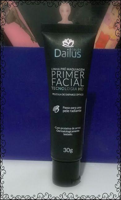 canal da geminiana: RESENHA: Primer facial Dailus com tecnologia HD
