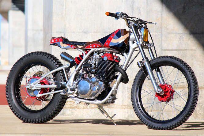 yamaha sr400   flake   Custom motorcycles, European