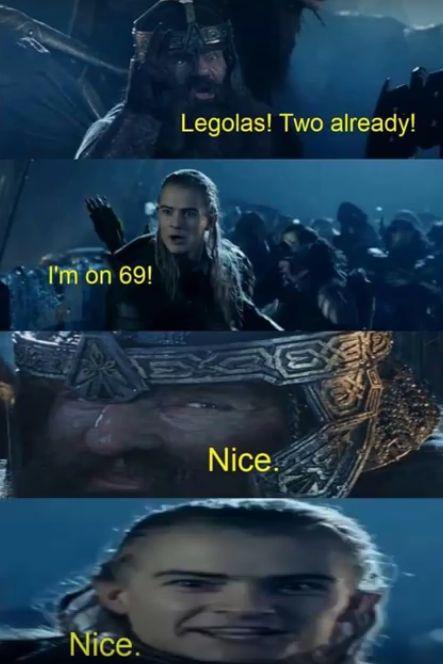 lord of the rings meme legolas and gimli en 2020 | El ...