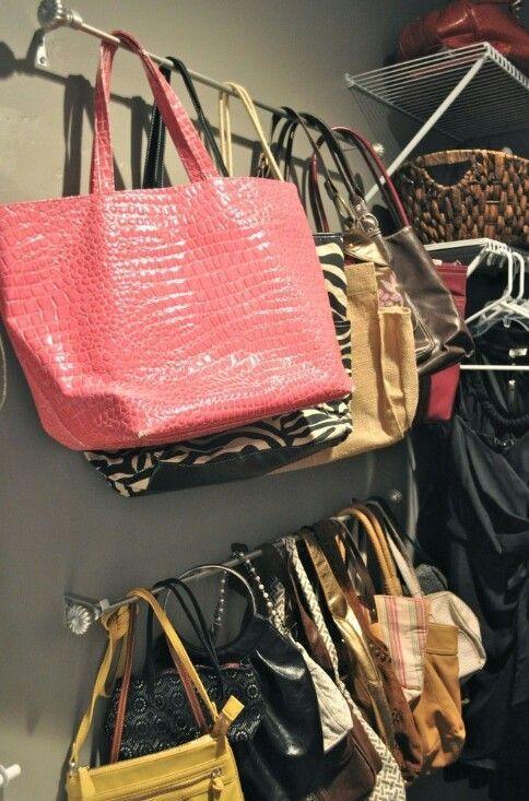 Handbag storage. - yellow purse, tignanello handbags, online shopping for women handbags *ad