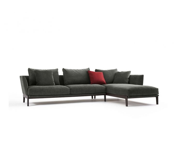 With The Chelsea Sofa, Rodolfo Dordoni Extends His Idea Of Comfort From The  Dining Room