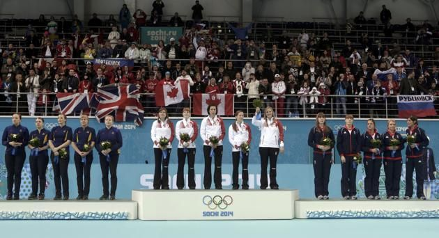 2014 Olympic Winners | ... for the women's curling competition at the Sochi 2014 Winter Olympics