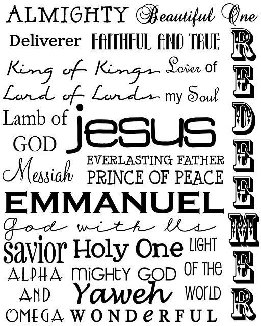 Wonderful Savior, Jesus
