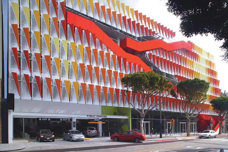 14 best architecture parking structures images on for Southern california architecture firms