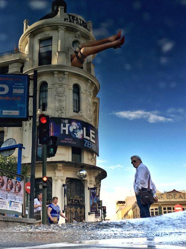 Luisón: The world upside down / El mundo al revés. Madrid