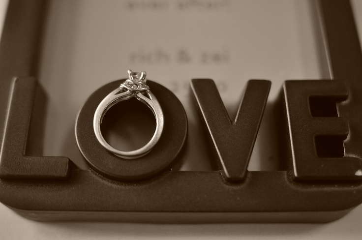 Love frames from our wedding