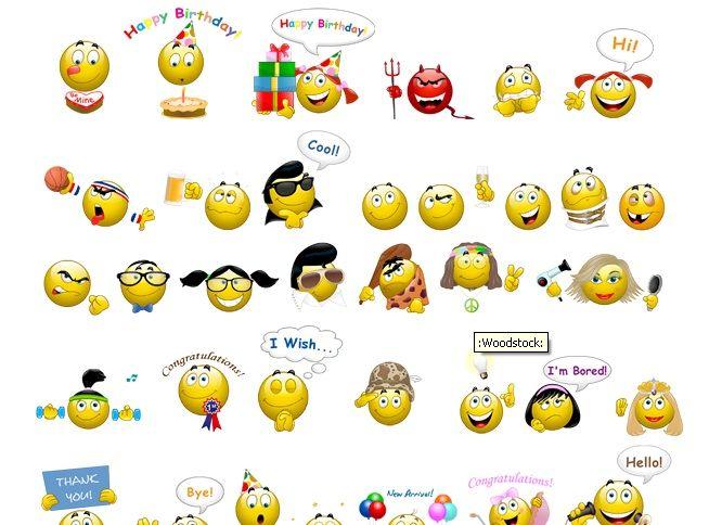 Kumpulan Emoticon BBM BlackBerry Lucu Gratis