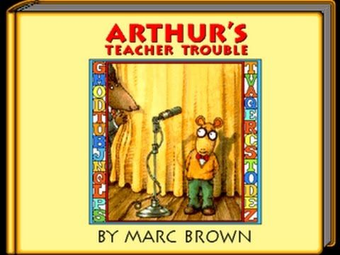 Living Books Arthur's Teacher Trouble (Read to Me Version)