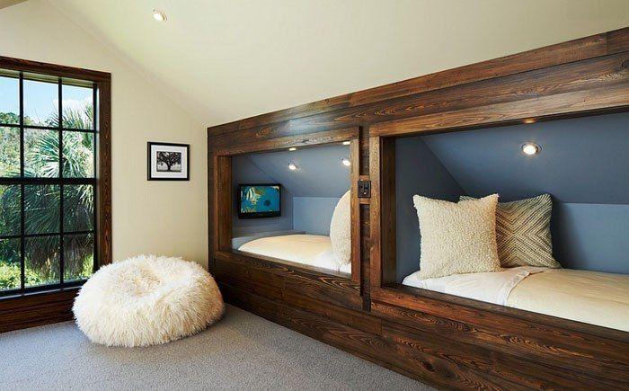 Потрясающие детские спальни в рустикальном стиле