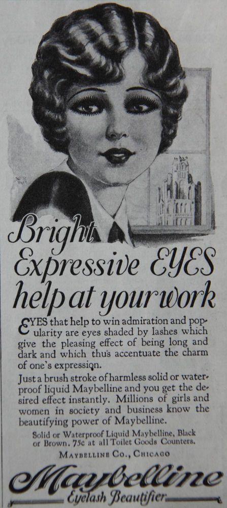 Il Make Up Anni 20 Tutorial Pois Gras Nostalgia Beauty Ad - 1920s-makeup-ads
