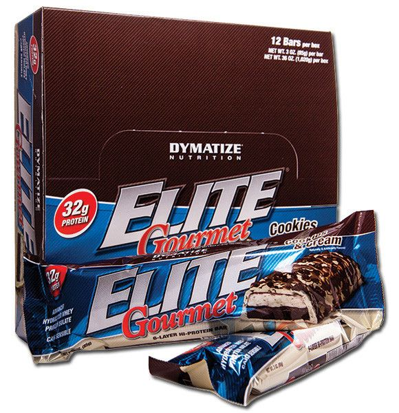 Dymatize Elite Bars 12 pločica x 85 g | Ljekarnik.hr