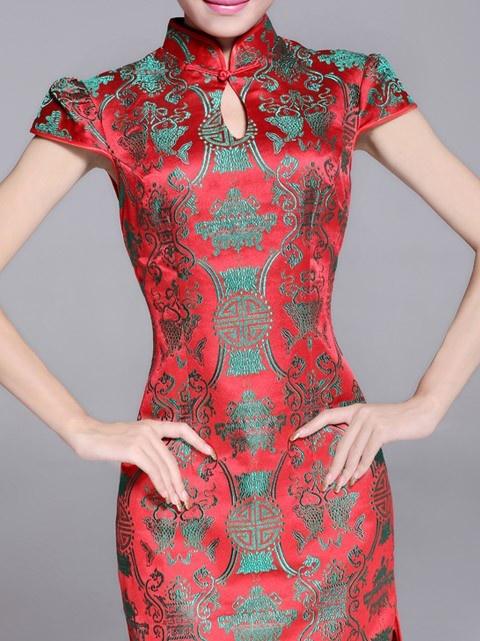 Short Cheongsam / Qipao / Chinese Wedding Dress