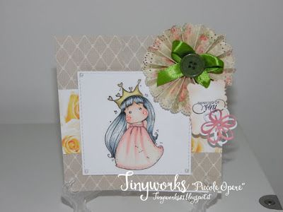 "TinyWorks: Card Thinking of You ""DT Simply Magnolia"""
