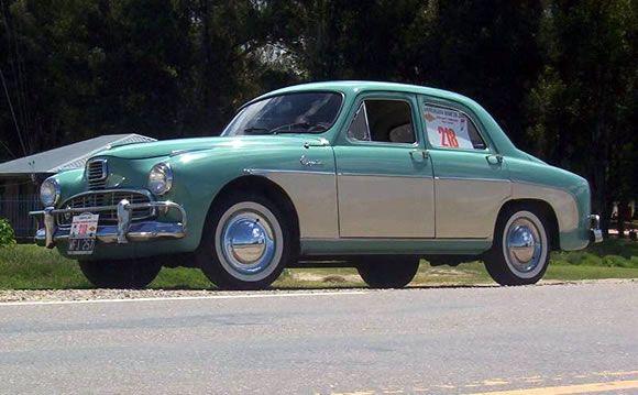 Historia del auto argentino IKA Bergantin - autos clasicos - autos argentinos