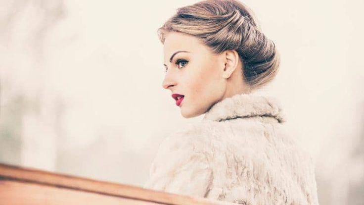 Penteados vintage: estilos clássicos para você trazer glamour ao dia a dia   #cabelo #hair #vintage