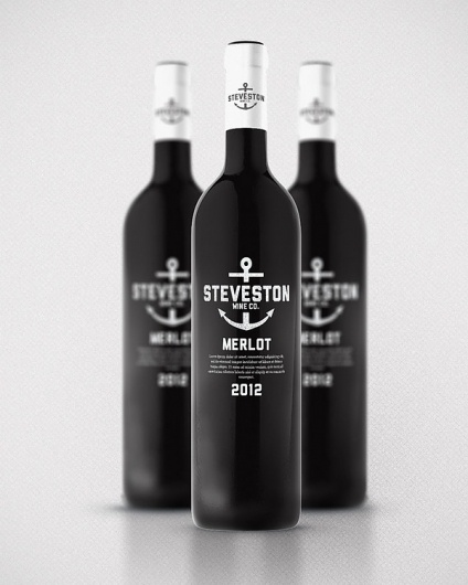Wine Packaging, Wine Labels, Bottle Packaging, Wine Design, Packaging Design, Steveston Wine, Wine Bottle, Bottle Design, Winebottle