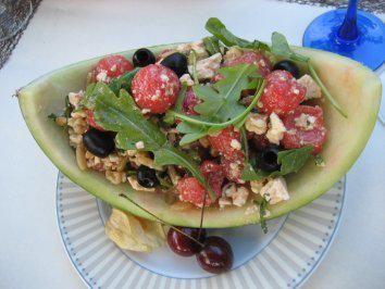 Rezept: Hawaiianischer Wassermelonensalat (Estefania Küster) Bild Nr. 2