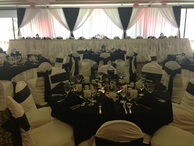 Mount Kidd Ballroom Decor By Chair Flair Calgary