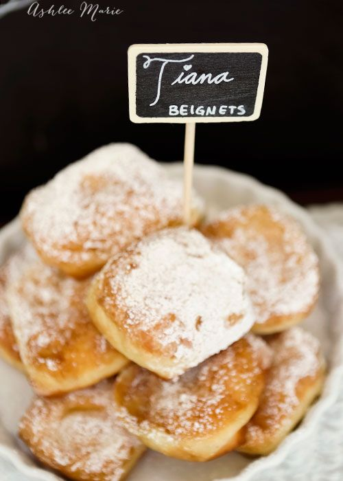 a copycat beignets recipe from Disney parks, Princess Tiana's man catching recipe
