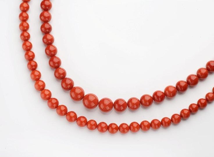Mediterranean Coral Necklaces