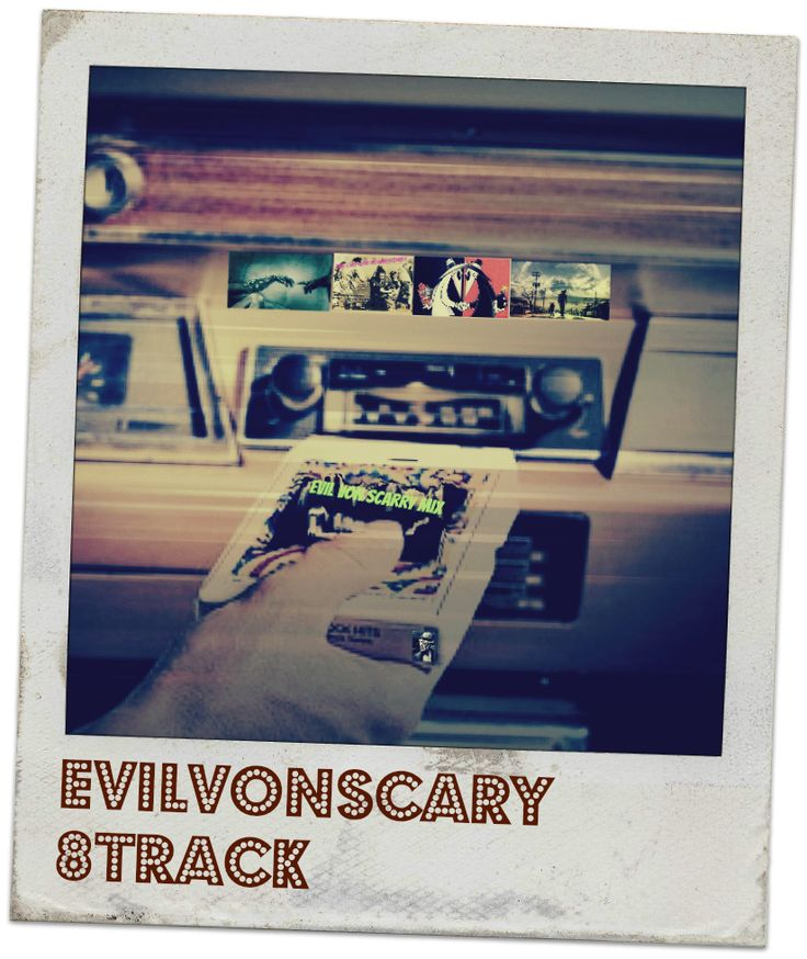 Promo for EvS 8Track article .... maybe soon to be a series. Mixed music. Did this one like an old Polaroid. #music-mix #8track #Polaroid