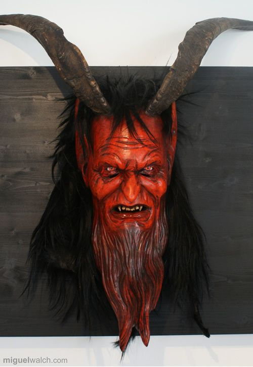 Luceriffic!: Cool Krampus Masks from Germany