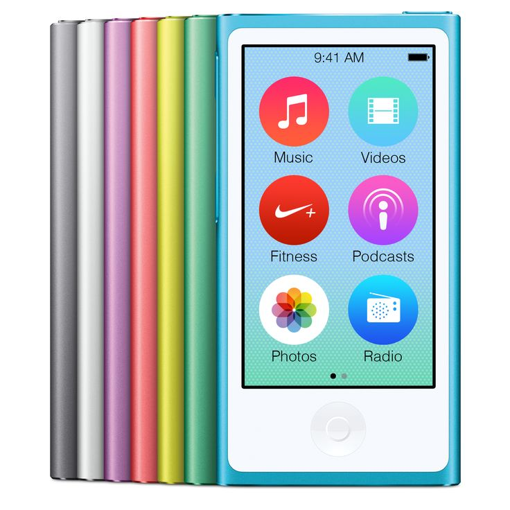 iPod Nano iOS 7 UI Concept