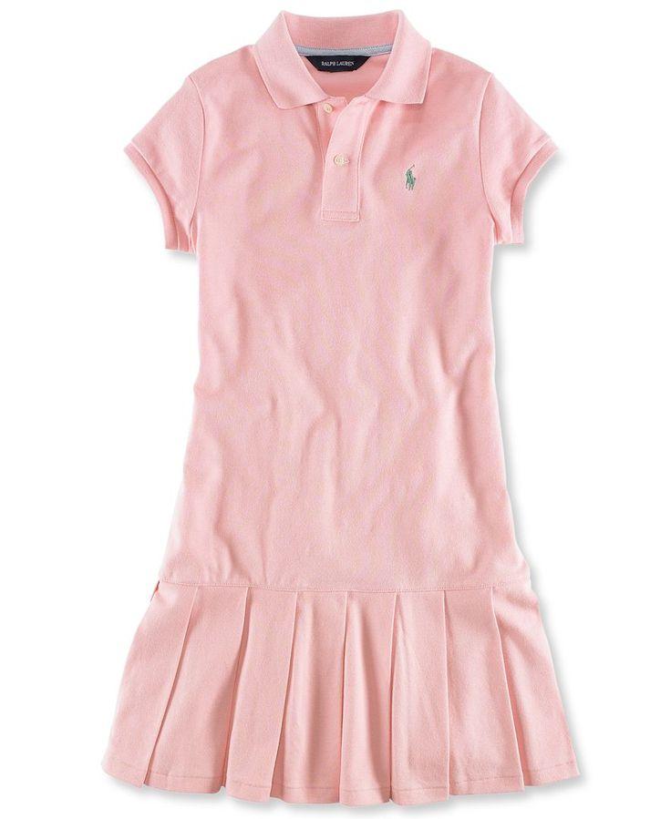 Ralph Lauren Kids Dress Little Girl Polo Dress Kids