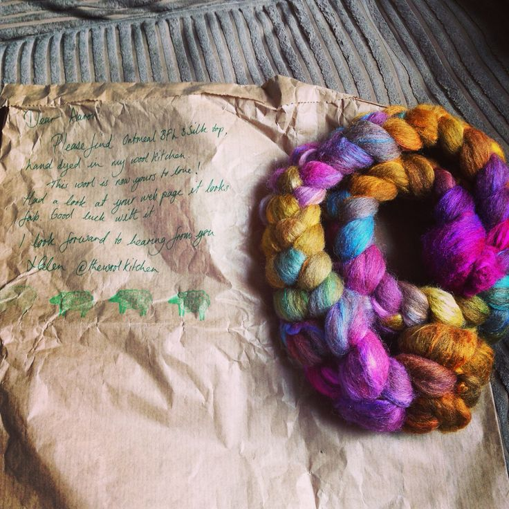 Beautiful wool from the wool kitchen