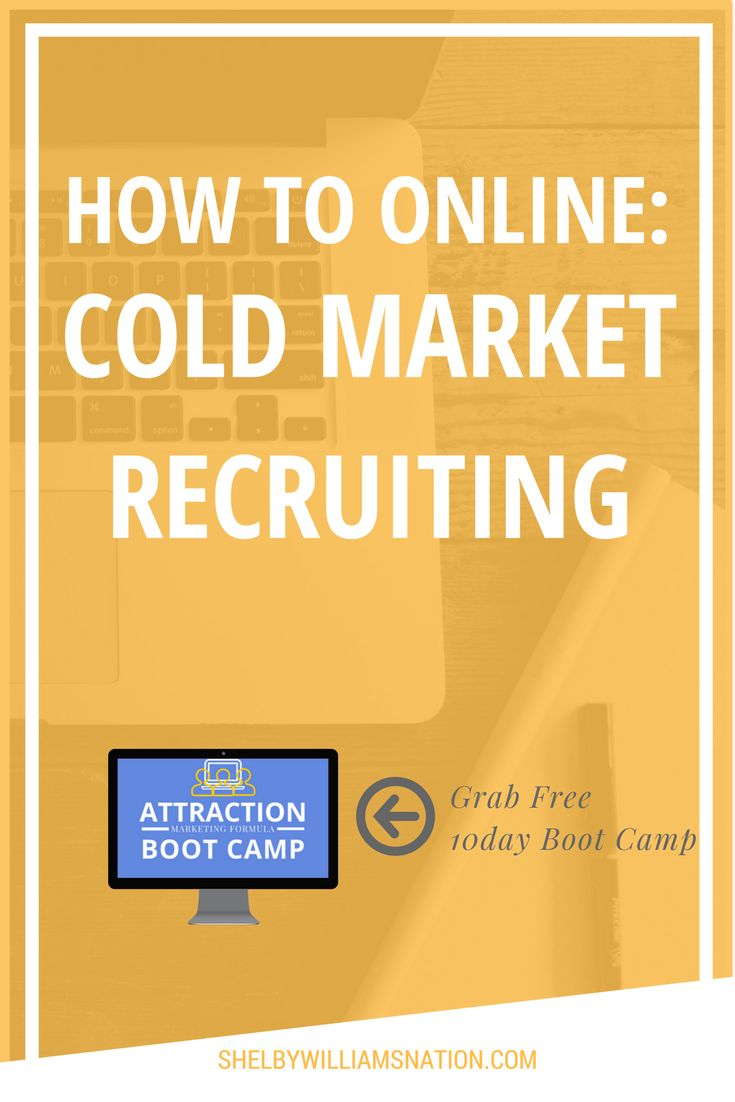 Do You Know You Are Sabotaging Your Business With A Poor Cold Market Recruiting Strategy?  4 DANGERS OF COLD MARKET RECRUITING!!!