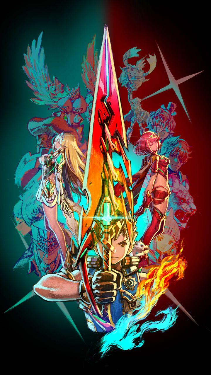 Video Game Xenoblade Chronicles 2 720x1280 Mobile Wallpaper