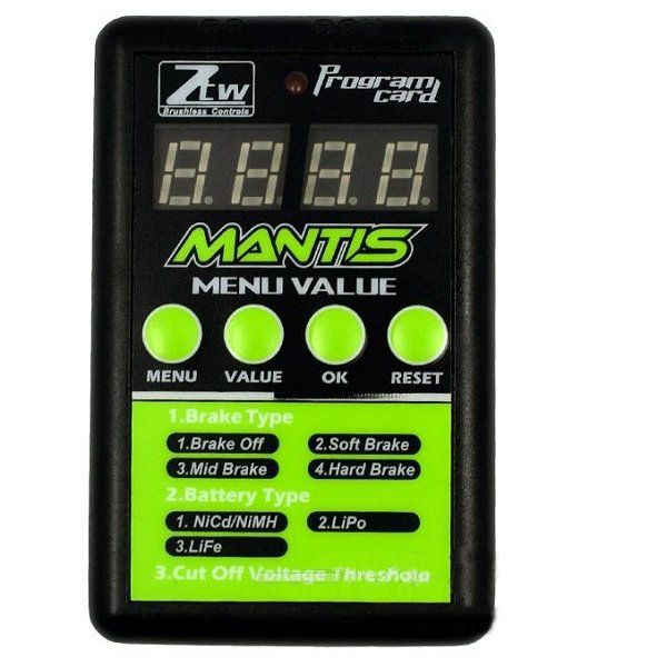 ZTW Program Card For Mantis Series  ESC Electronic Speed Control With LED https://www.fpvbunker.com/product/ztw-program-card-for-mantis-series-esc-electronic-speed-control-with-led/    #quads