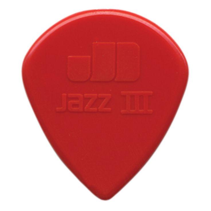 Jim Dunlop Eric Johnson Classic Jazz III Picks x 6 Players Pack: Jim Dunlop Eric Johnson Classic Jazz III picks in red. Pack of 6 picks.