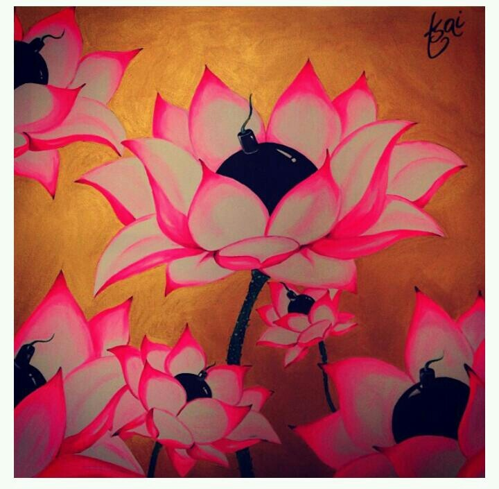 Lotus flower bomb suetsai fave artwork pinterest for Lotus flower bomb tattoo