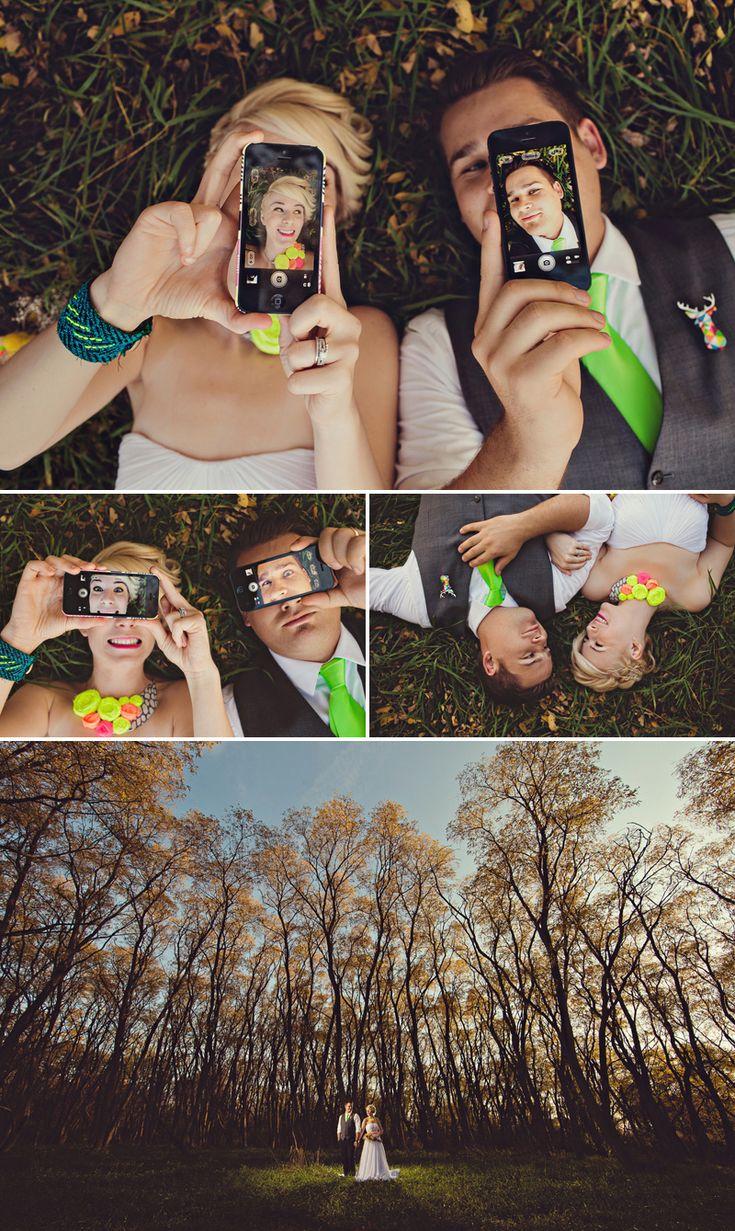 Great idea about smartphone photo, from Gauper Photography / fotos novios / bodas / foto con celular