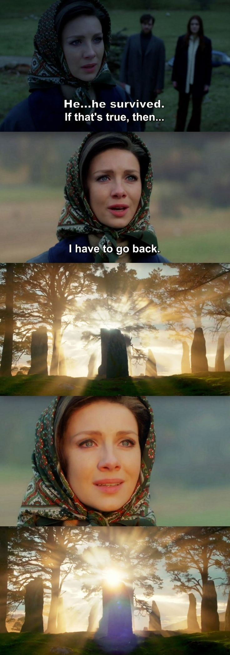 Outlander Season 2 Finale. Claire