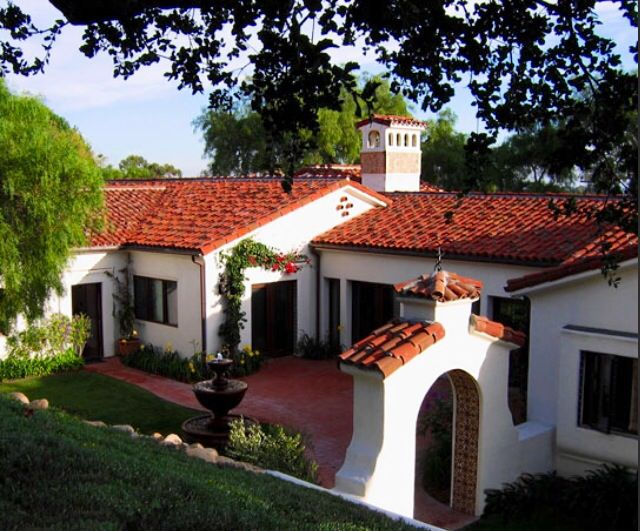 I 39 m a california native so spanish is a favorite for Mediterranean roof styles