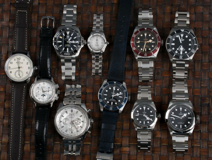 https://www.bernardwatch.com/Whats-New-980?utm_content=bufferfb5ae&utm_medium=social&utm_source=pinterest.com&utm_campaign=buffer We have posted five new Tudors, a classic Zenith El Primero, a pair of TAG Aquaracers, a Breitling Bentley, and an Alpina Manufacture.  Swing by the site for info and prices!