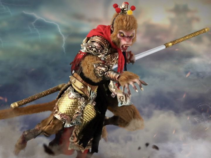 Chinese Legends Sun Wukong Monkey King Begins 1 6 Scale Figure Product Description From Ouzhixiang And 303 Toys The Monkey Ki Monkey King Sun Wukong Monkey