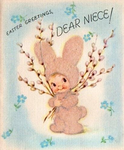 Little Girl in Bunny Suit