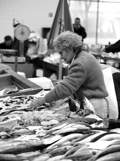 Matosinhos: mercado do peixe  by E.Rocha