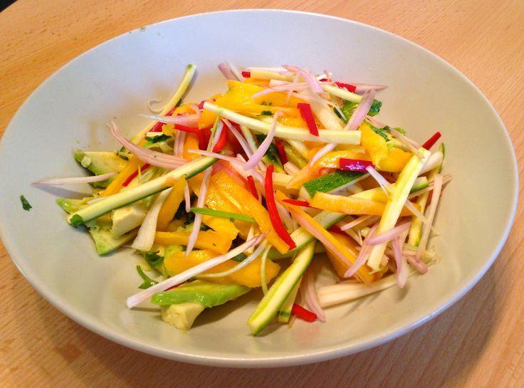 Mango & Papaya Salad