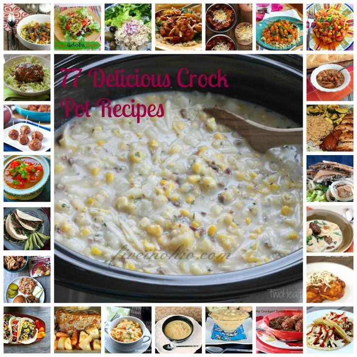 77 Delicious Crock Pot Recipes - Five in Ohio