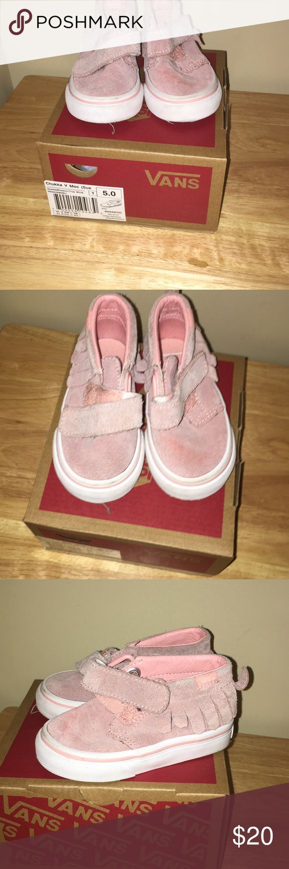 PRE OWNED TODDLER GIRLS FRINGES VANS PRE OWNED TODDLER GIRLS FRINGES VANS ... PET FREE SMOKE FREE HOME Vans Shoes Sneakers