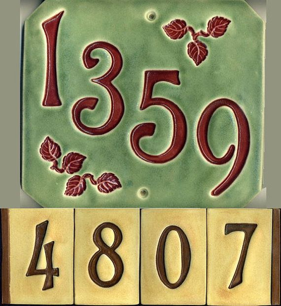 98 best number and letter tiles images on pinterest a for Ceramic tile numbers and letters